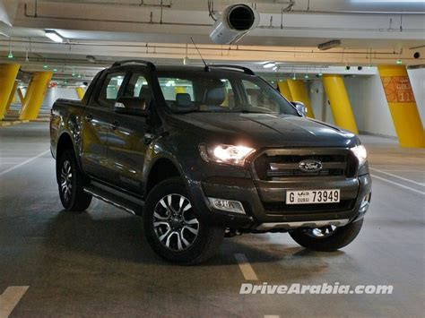 First drive: 2016 Ford Ranger WildTrak in the UAE   Drive