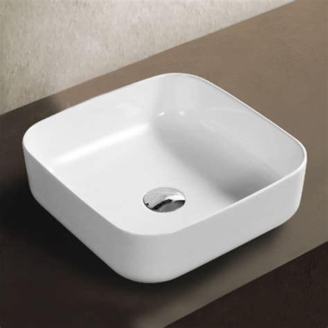 Les Design A Poser Vasque 224 Poser Carr 233 E 40x40cm C 233 Ramique