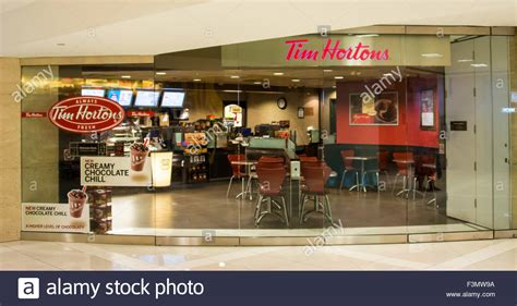View tim hortons, in coffee shops category. The outside of a Tim Hortons Coffee Shop. Tim Hortons Inc. is a Stock Photo: 88354710 - Alamy