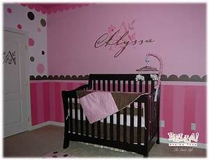 Bedroom ideas for a baby girl home delightful for Baby girl bedroom decorating ideas