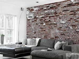 die besten 25 backstein tapete ideen auf pinterest With markise balkon mit mauer optik tapete