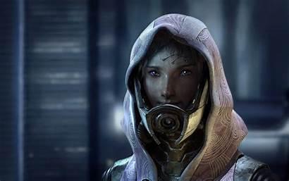 Tali Face Mass Effect Taken Unmasked Talis