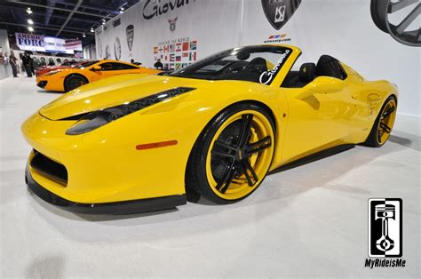 Pictures Of Lamborghinis And Ferraris by Ferarri 458 V Vorsham Spider Rolling On Giovanna Wheels