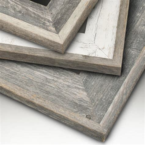 barn wood picture frames eco friendly reclaimed genuine wood picture frames