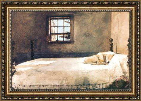 Andrew Wyeth Master Bedroom Framed Print For Sale