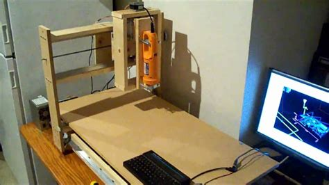 homemade wooden cnc machine  youtube