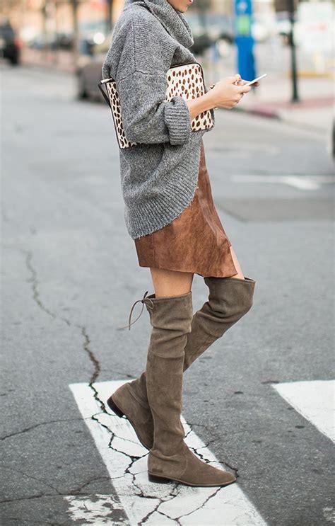 ways  wear  knee high boots pretty designs