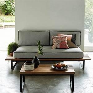 outdoor indoor quand le mobilier exterieur s39invite a l With idee de deco jardin exterieur 1 un salon de jardin chic 224 prix doux joli place