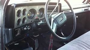 1986 Chevy K10 Interior During The Day