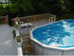 Swimming Pool Ideas With Deck Pool Decks