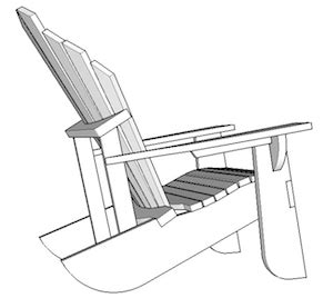how to build how to draw adirondack chair pdf plans
