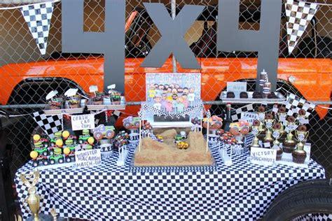monster truck jam party supplies kara 39 s party ideas monster jam monster truck party full of
