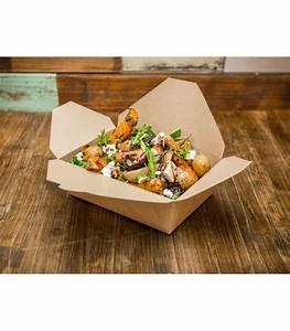 Boite à Café : bo te pour plat emporter en kraft 1300 ml compostable biod gradable ~ Teatrodelosmanantiales.com Idées de Décoration