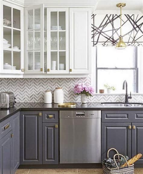 Trendy Kitchen Cabinet Colors by 20 Most Popular Kitchen Cabinet Paint Color Ideas Trends