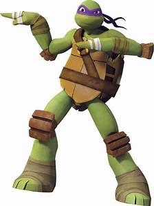 Hi! I'm Donatello, but call me Donnie! I'm the smart one ...