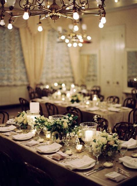 orleans black tie wedding reception decor centerpieces
