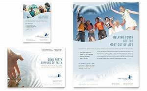 christian ministry flyer ad template word publisher With religious flyers template free