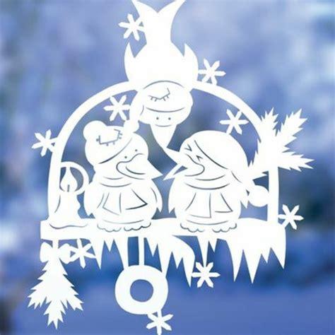 Fensterdeko Weihnachten by Feine Fensterbilder Zu Weihnachten Und Winterzeit