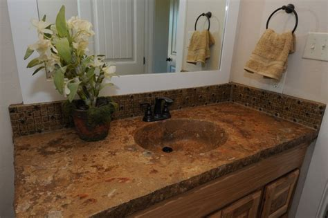 Concrete Integrated Bowl Sink And Countertop By Red Baron
