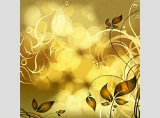 Gold floral vector free download free vector download