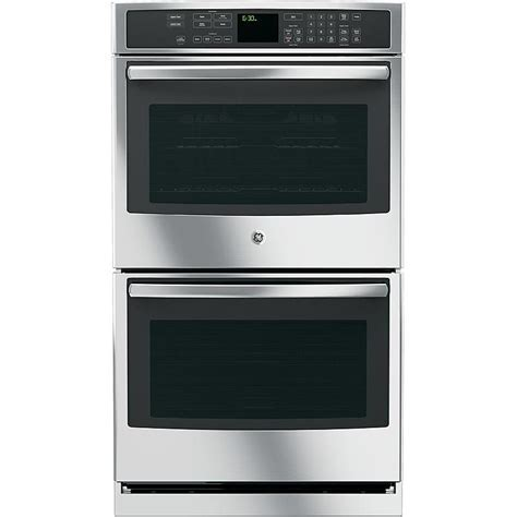"""GE Profile   PT7550SFSS   30"""" Electric Double Wall Oven w"""
