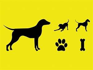 Dogs Vector Silhouettes Vector Art & Graphics   freevector.com