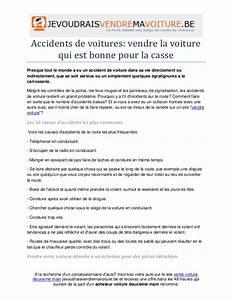 Vendre Une Voiture à La Casse : accidents de voitures vendre la voiture qui est bonne pour la casse ~ Gottalentnigeria.com Avis de Voitures