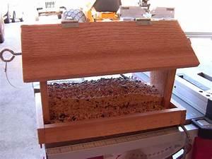 Simple DIY Homemade Bird Feeders Made From Wood Ideas