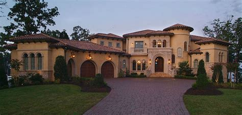 Mediterranean Style Stucco Homes