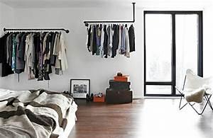 Ikea Kleiderstange Wand : kleiderst nder selber bauen ersatz f r den kleiderschrank ~ Michelbontemps.com Haus und Dekorationen