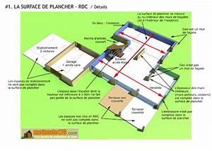 la surface de plancher reforme urbanisme mars 2012 With comment calculer la surface habitable d une maison