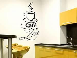 Deko Für Küchenwand : wandtattoo caf zeit wandtattoo kaffee zeit wandtattoos kaffee ~ Sanjose-hotels-ca.com Haus und Dekorationen