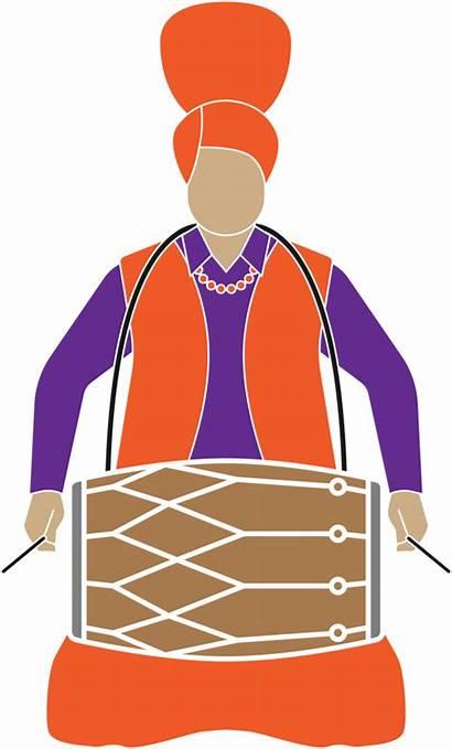 Membranophone Lohri Drum Happy Decoration Dhol Freepngimg