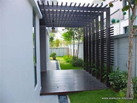 bungalow landscaping pergola landscape design