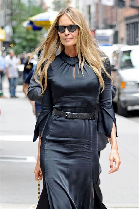 Elle Macpherson Out About New York
