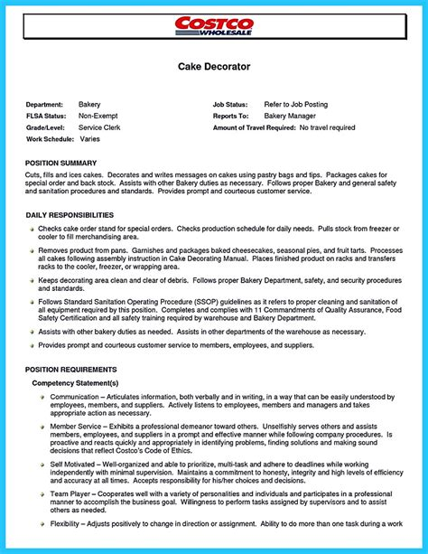 Cake Decorator Resume Exles by Do Not Make Any Mistake When You Make Your Cake Decorator Resume The Cake Decorator