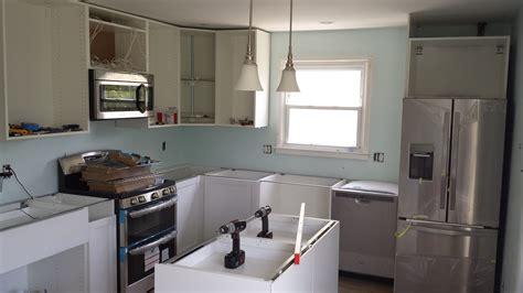 installing ikea kitchen cabinets  diy  offbeat