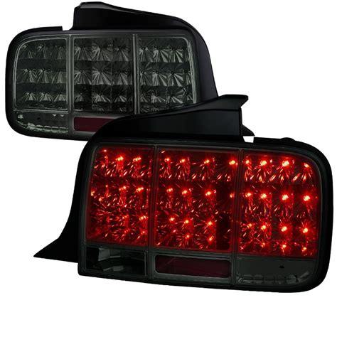 05 mustang sequential tail lights 05 09 ford mustang led sequential turn signal led tail