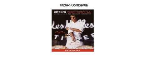 kitchen confidential audiobook   mp