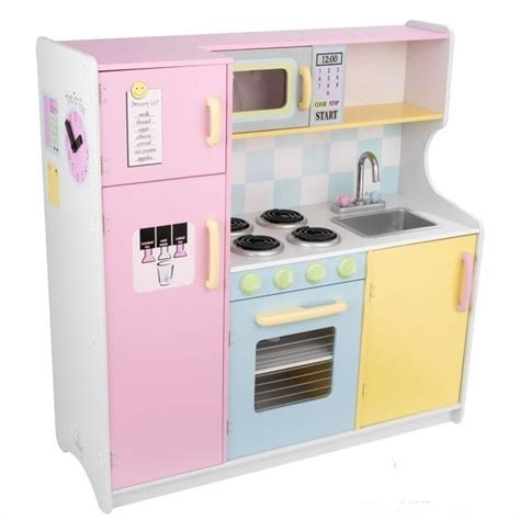 kidkraft pastel play kitchen 53181