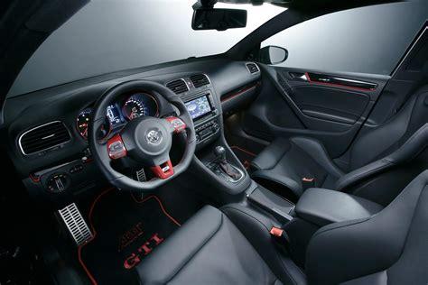 volkswagen gti interior volkswagen cars news abt tuned mk6 golf gti