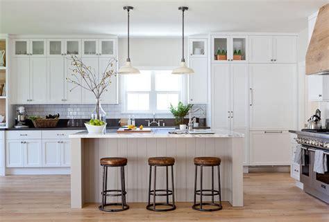 neutral modern farmhouse kitchen bathroom home bunch