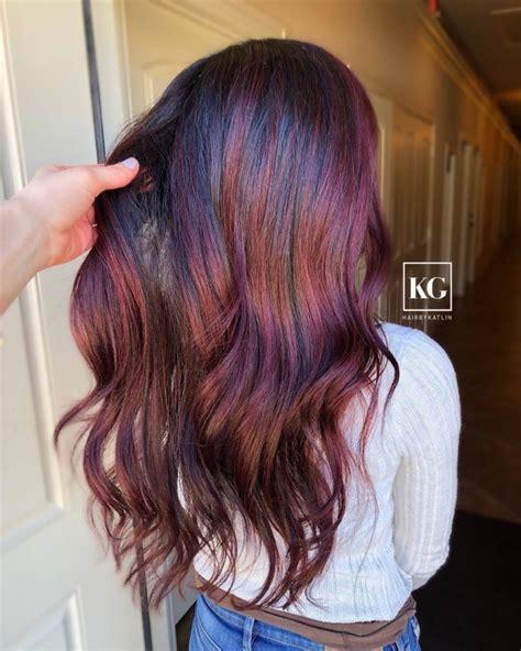 sangria hair color sangria hair color la couleur cheveux 2019 pour les