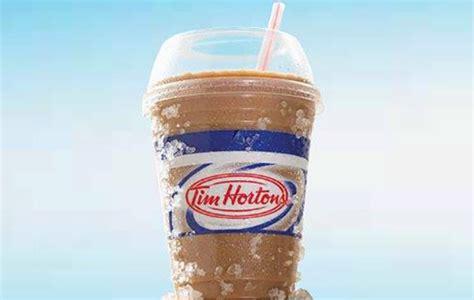 recette tim hortons cappuccino glace circulaire en ligne