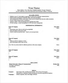 Undergraduate Resume Format Pdf by Sle Student Resume 7 Documents In Pdf Word