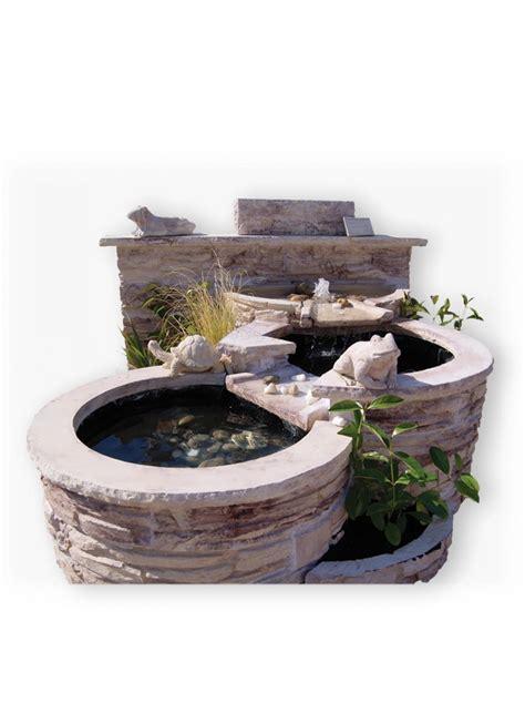 fontaine exterieur en fontaine niagara en reconstitu 233 e avec 3 bassins pour jardin