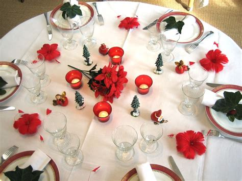 photos bild galeria decoration de table pour noel