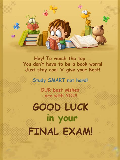 luck my for addictions best wishes for exams images