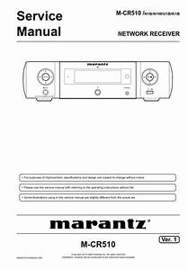 Marantz Melody Mcr510 Receiver Service Manual  With Images
