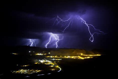 Lightning Tom Price Mine Site   Andrew Stevens Photography